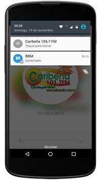 Caribeña 103.7 fm apk screenshot