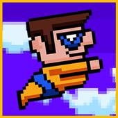 City Superhero Flying Adventur icon