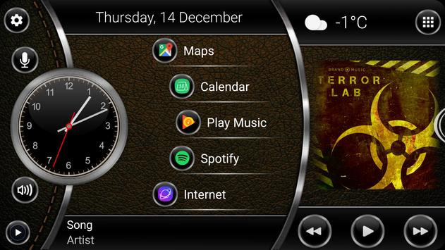 Theme Leather screenshot 4