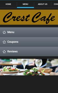 Crest Cafe apk screenshot