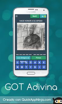 Adivina Tronos Quiz screenshot 2