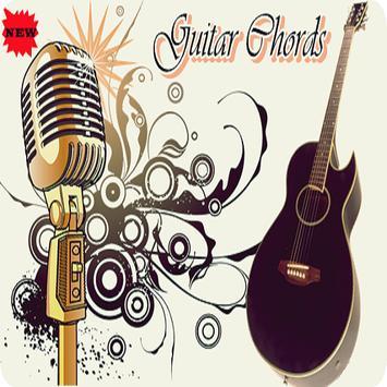 Chord Guitar England poster