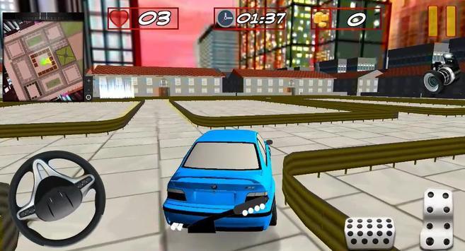 Car Parking 3D 2017 screenshot 1