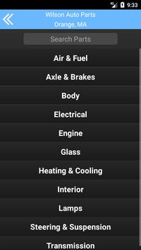 Wilson Auto Parts - Orange, MA screenshot 1