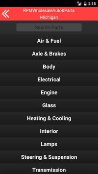 RPM Wholesale Auto & Parts screenshot 1