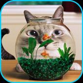 Aquarium lock screen icon