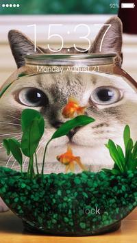 Aquarium lock screen poster