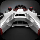 Racing car lock screen icon