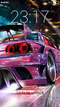 Street racing lock screen screenshot 2