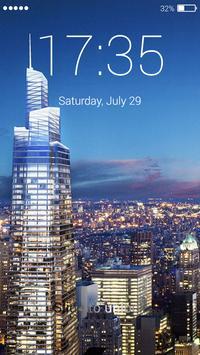 Skyscraper Lock Screen screenshot 1