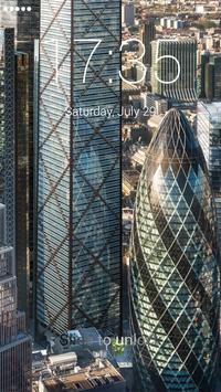 Skyscraper Lock Screen apk screenshot