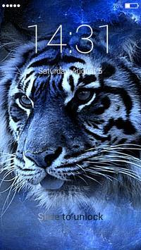 Tiger Lock Screen apk screenshot