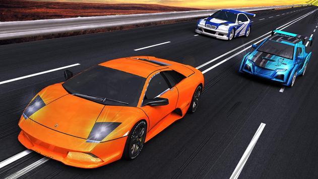 Crazy Car Racing poster