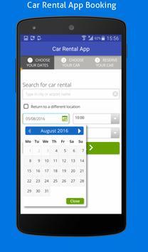 Car Rental App apk screenshot