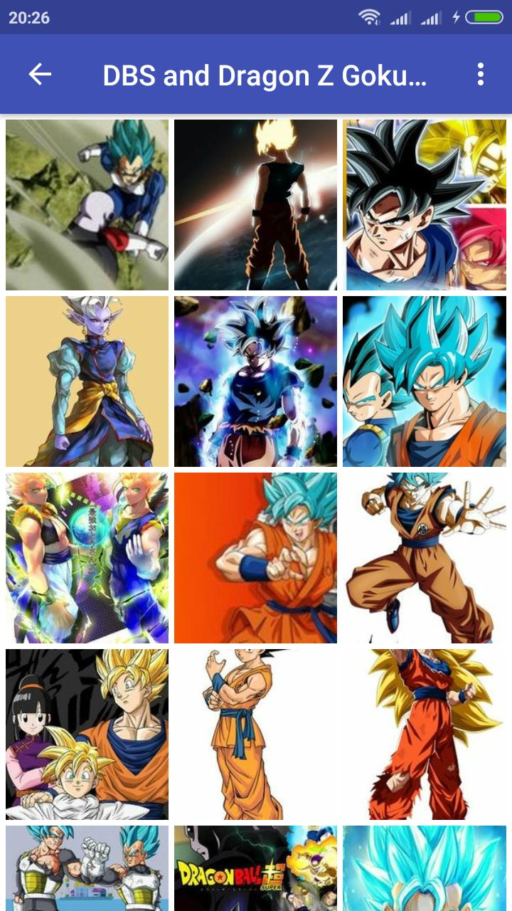 Dbs And Dragon Z Goku Vegeta Wallpaper Hd For Android Apk Download