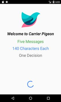 Carrier Pigeon poster