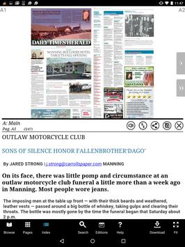 Carroll Daily Times Herald apk screenshot