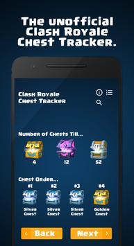 Chest Tracker Poster