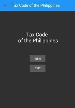 Tax Code of the Philippines apk screenshot