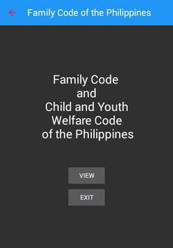 Family Code of the Philippines poster