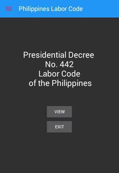 Labor Code of the Philippines poster