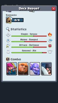 Deck Analyzer for Clash Royale Screenshot 4