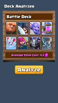 Deck Analyzer for Clash Royale poster
