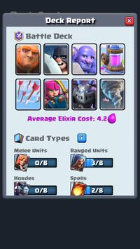 Deck Analyzer for Clash Royale screenshot 2