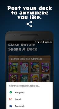Share A Deck for Clash Royale スクリーンショット 4