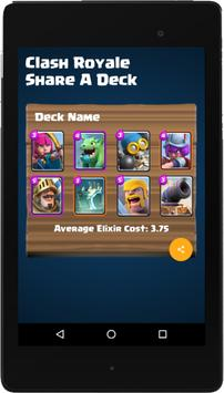Share A Deck for Clash Royale スクリーンショット 7