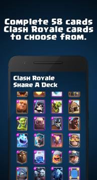Share A Deck for Clash Royale スクリーンショット 2
