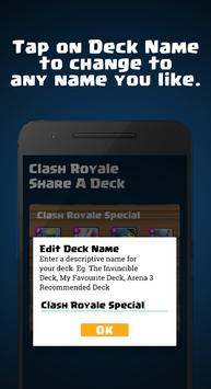 Share A Deck for Clash Royale スクリーンショット 3
