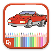 Cars Coloring Book icon