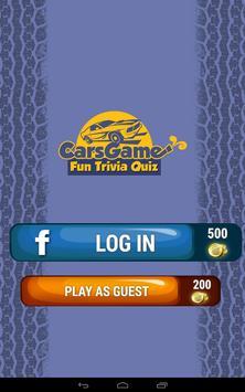 Cars Game Fun Trivia Quiz apk screenshot
