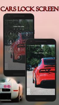 Cars Lock Screen screenshot 3