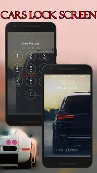 Cars Lock Screen screenshot 4