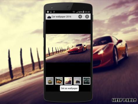 car wallpaper 2016 apk screenshot