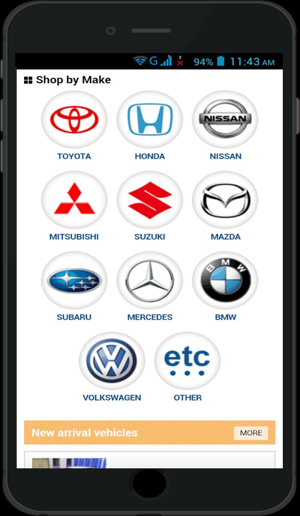 Buy Used Cars in USA poster
