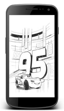 Cars 3 Coloring Pages poster
