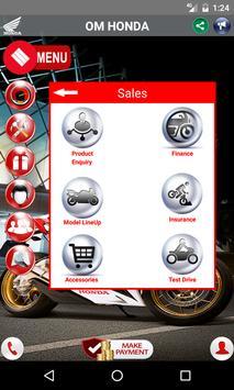 Om Honda apk screenshot