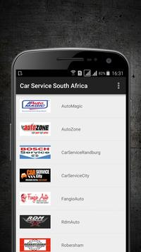Car Service South Africa poster