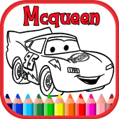 Cars Coloring Book For Mcqueen APK