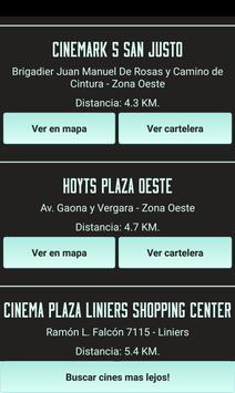 Cartelera de Cine Argentino screenshot 3