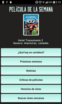 Cartelera de Cine Argentino poster