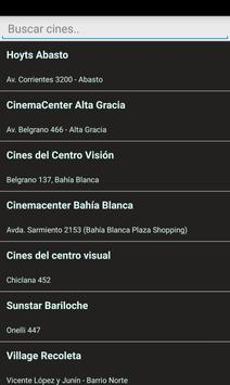 Cartelera de Cine Argentino screenshot 4