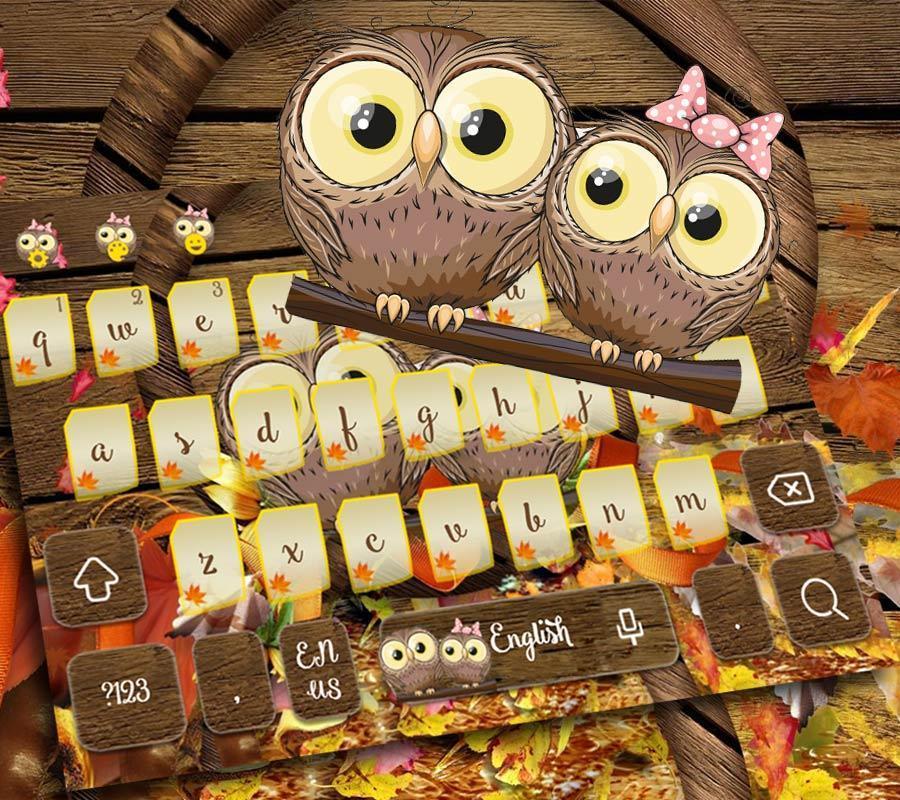 77+ Tema Cute Owl Apk - Cute Owl Emoji Keyboard For Android