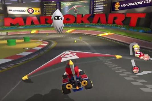 Hint Guide Mario Kart 8 New 2018 poster