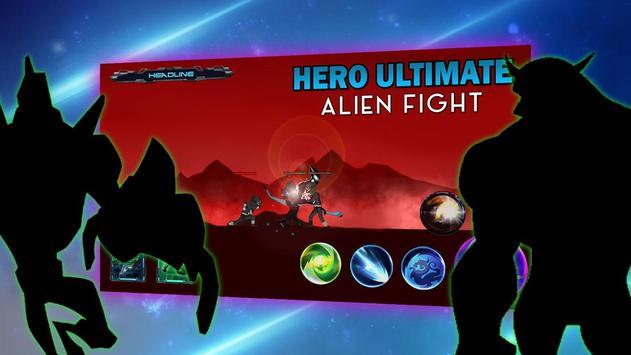Alien Ultimate Force Bendy Hero Fight 10x poster