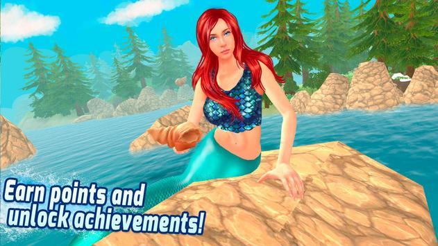 Diving Mermaid Swimming Race apk screenshot