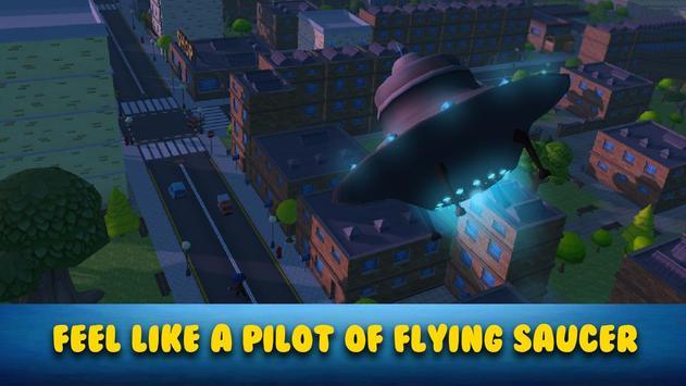 Cartoon Alien UFO Simulator 3D screenshot 4